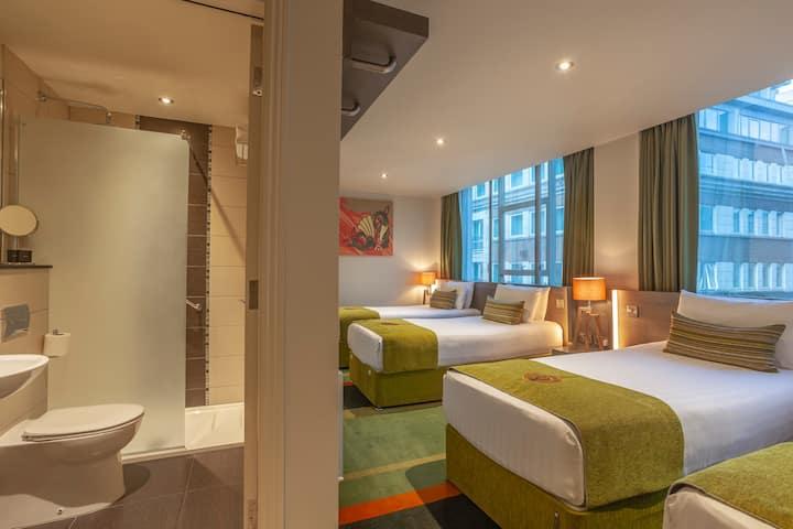Unbeatable Location! 4 Person Boutique Hotel Room