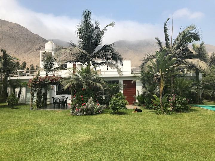 Casa de campo familiar en Cieneguilla