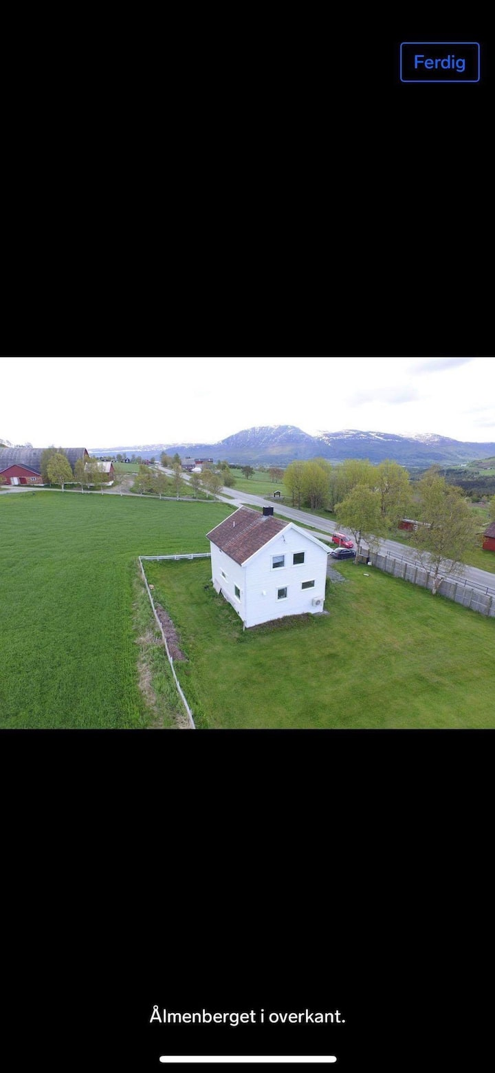 Fritidshus ved Vangslia skisenter til leie.