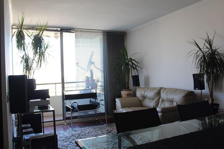 Vista panoramica Santiago piso 27