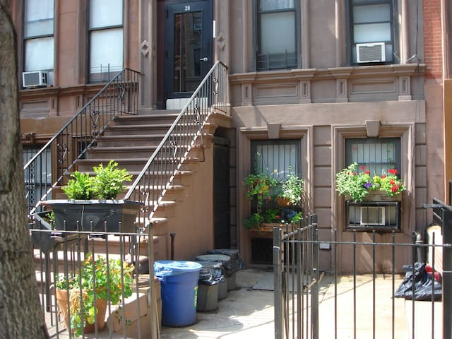 This is that lovely brownstone