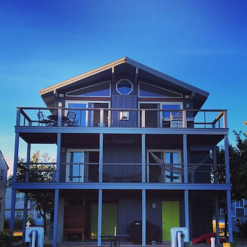 Best of both worlds:  canalfront and walk to beach - Bethany Beach - Rumah