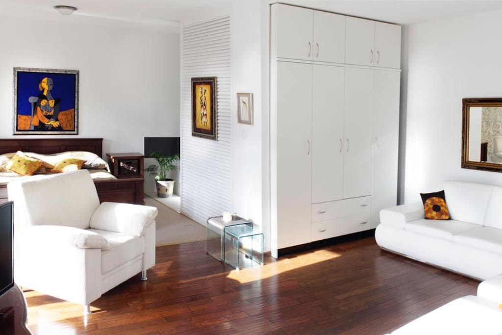 Living room 2, Surface: 15 m²