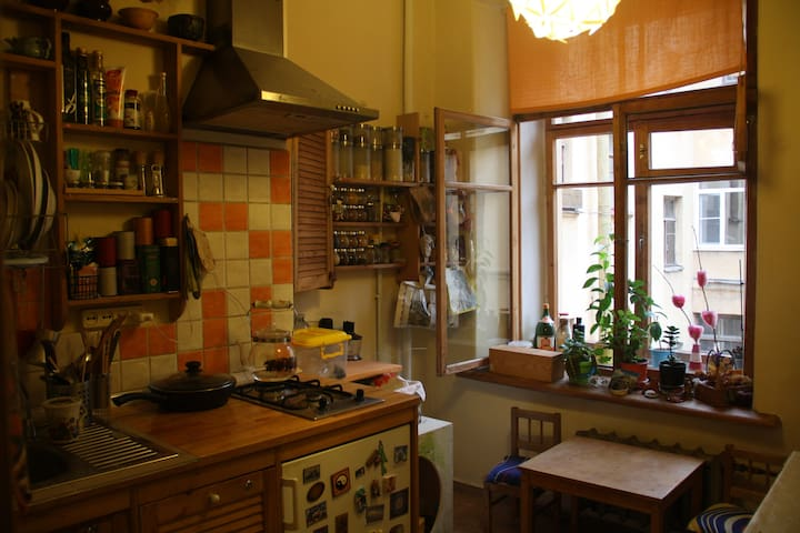 Quiet Location in the City Center - Sankt-Peterburg - Departamento