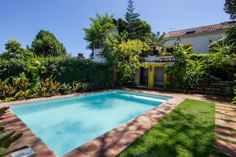Villa with pool and amazing view in Olinda