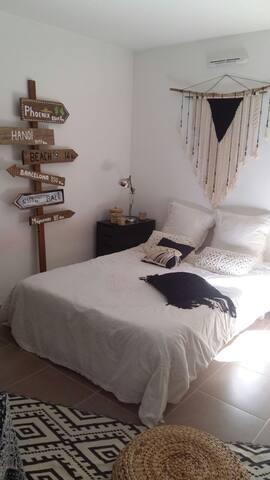 Chambre cosy dans appartement très calme