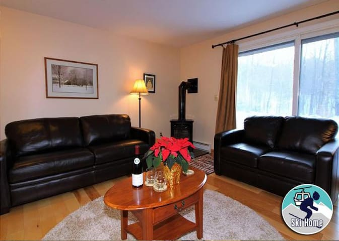 Cozy one bedroom condo on the shuttle route & ski back trail