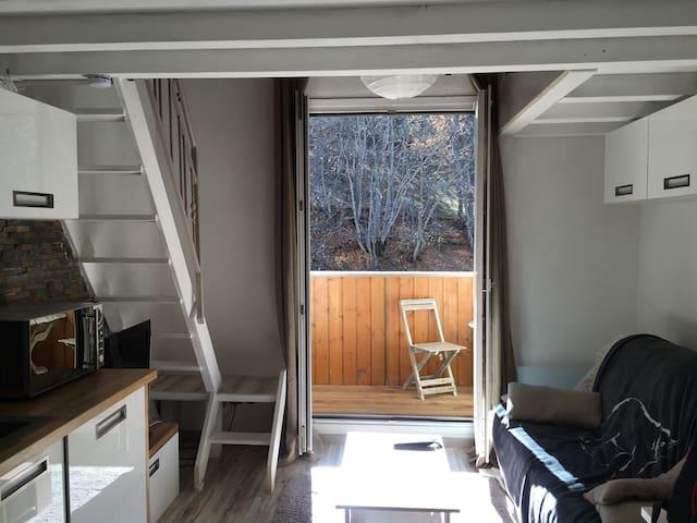 Joli Studio moderne et tout équipé - Allos - Apartment