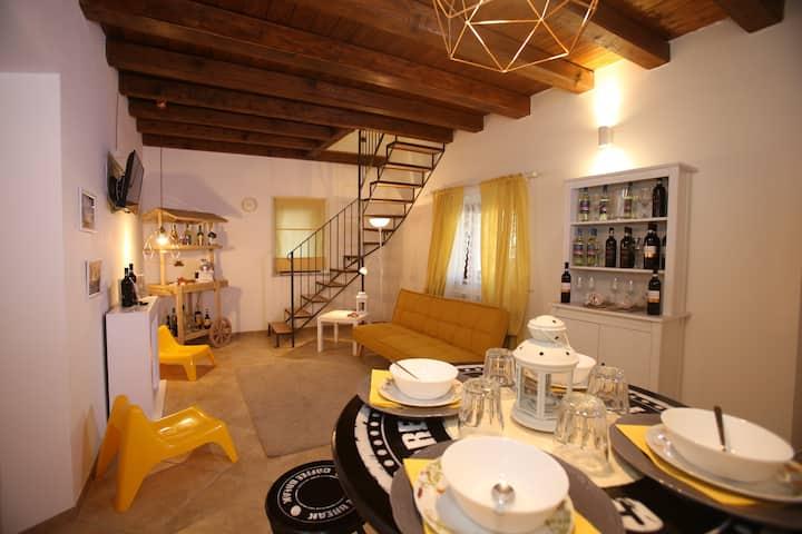 Villa Gusto e Benessere piazzetta e Ristorante