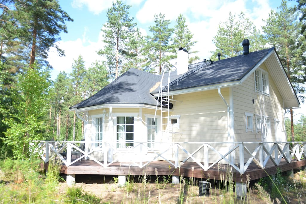 brend new sweet home for relaxing and activities h user zur miete in savonlinna finnland. Black Bedroom Furniture Sets. Home Design Ideas