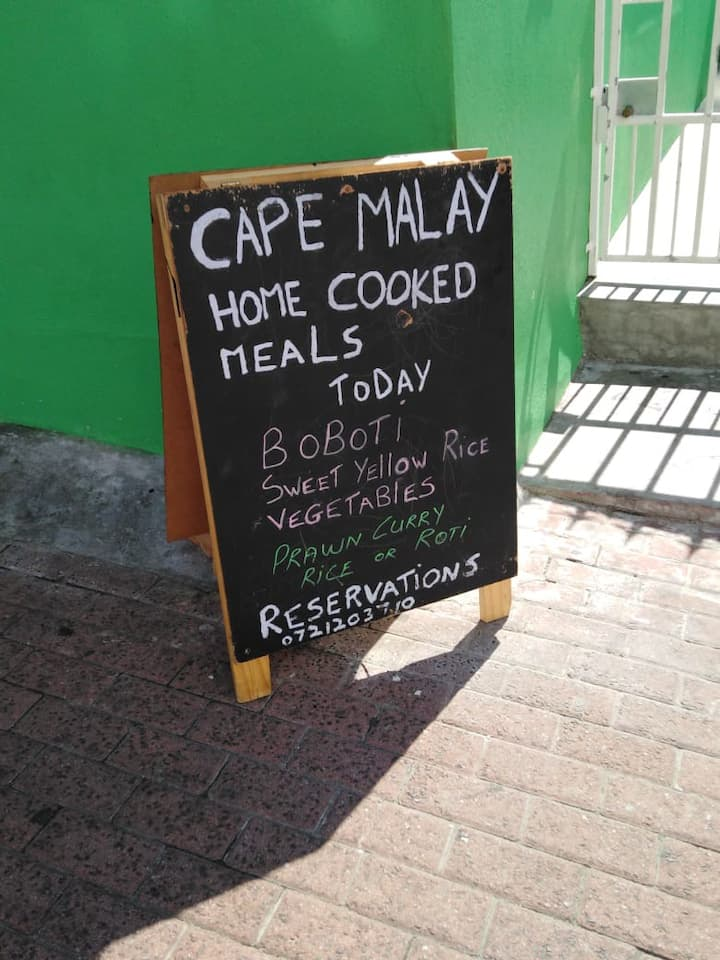 Cape Malay home fresh cooked meals
