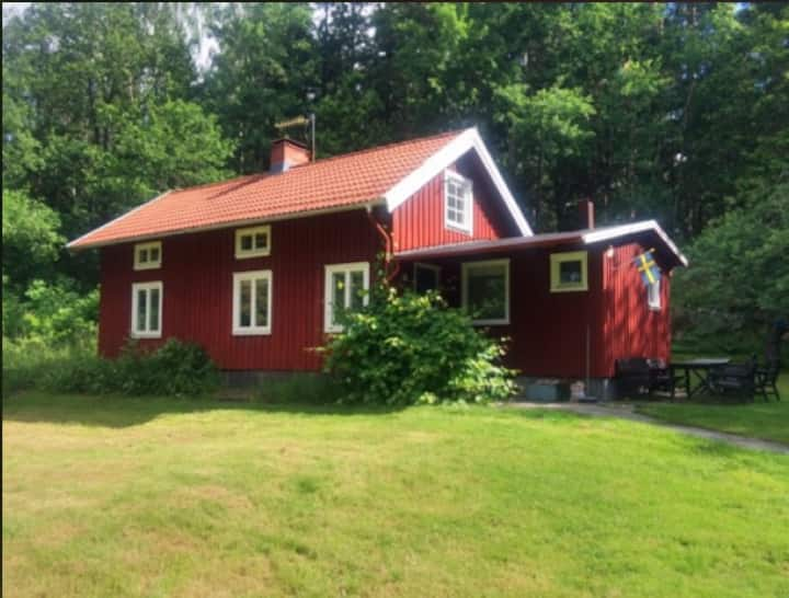 Traditional Swedish Cottage Fjäras