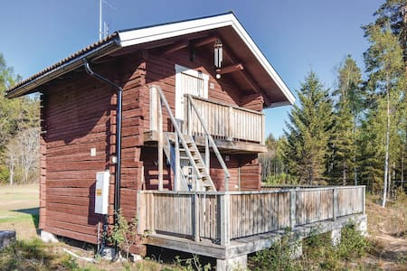Holiday cottage with 1 bedroom on 39m² in Ambjörby
