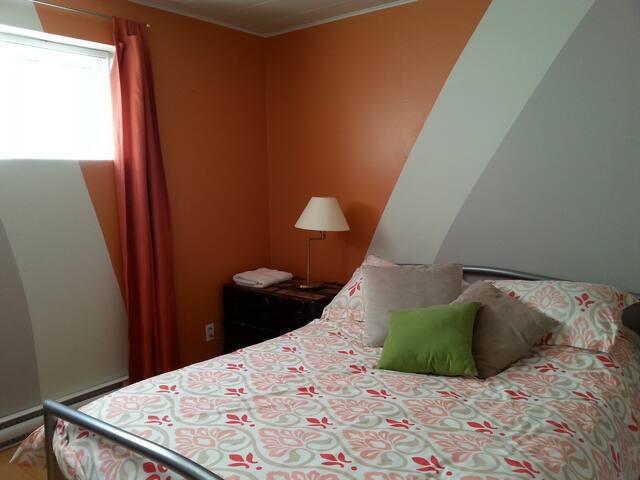 Chambre confortable, sans frais supplémentaire