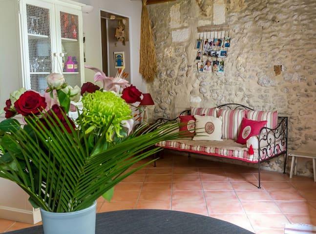 Maison de charme proche de Cognac - Javrezac - Huis