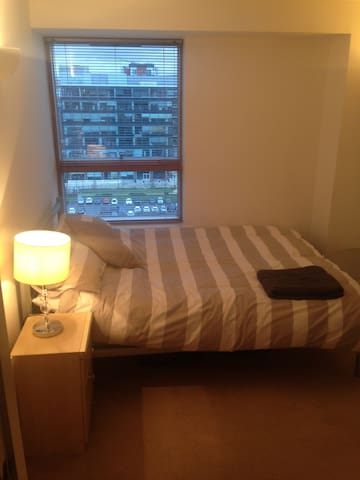 Modern double room in centre near Leeds station - Leeds - Leilighet