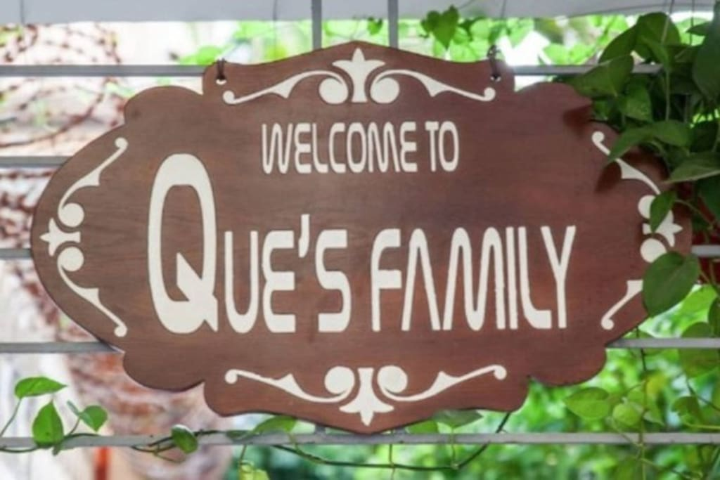 Welcome to Que's Family, one of the most cosy and lovely homestay in Hanoi! This is the two rooms fully furnished flat, in addition to this, you also can stay in other one room fully furnished flats on the same floor in my family private building.