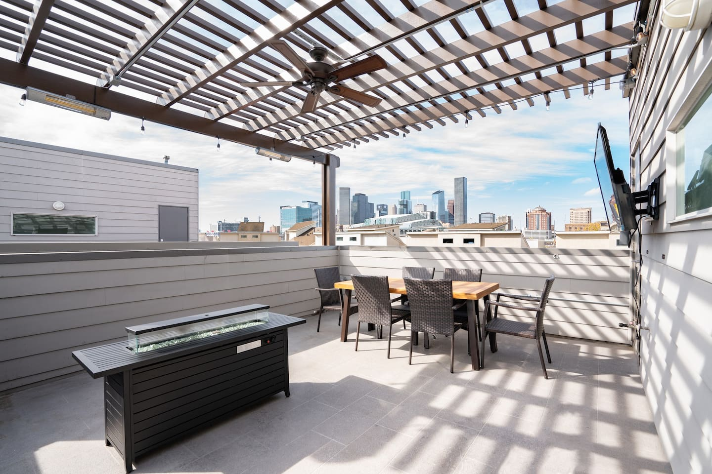 Rooftop decks with stunning city views (this area is available as an additional add-on & not included in basic accommodations, please inquire with host about pricing)