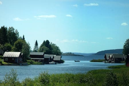 Boathouse in old fishing village away from stress. - Nordingrå