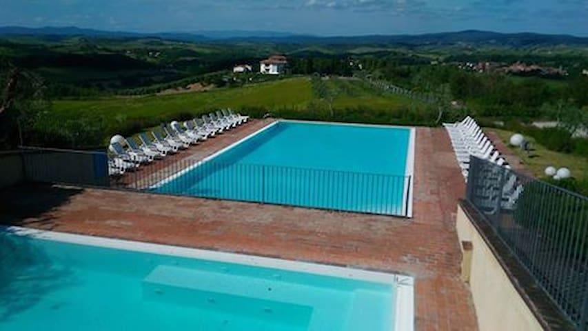 Relax Sulle Crete Senesi - Palazzo Monaci - Asciano - Appartement