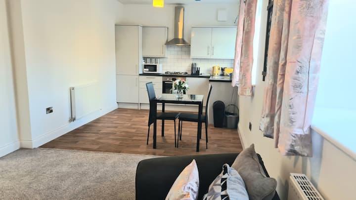 Modern flat@highbridge, 1.5 miles from seaside #1