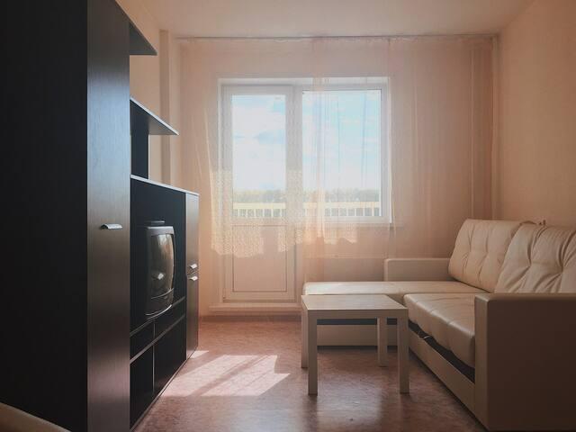 Теплая чистая уютная квартира в Новосибирске