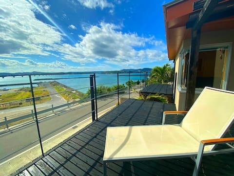 Ocean view villa with kitchen★W4★ Free breakfast