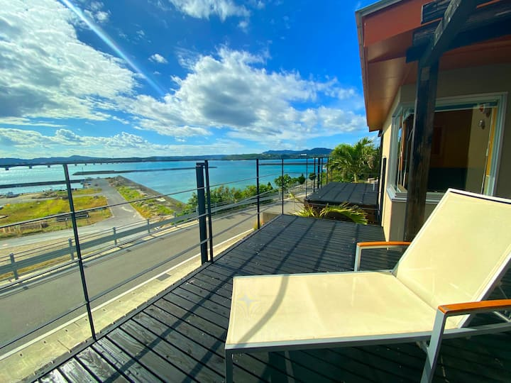 Ocean view villa with kitchen★W4★ Free breakfast