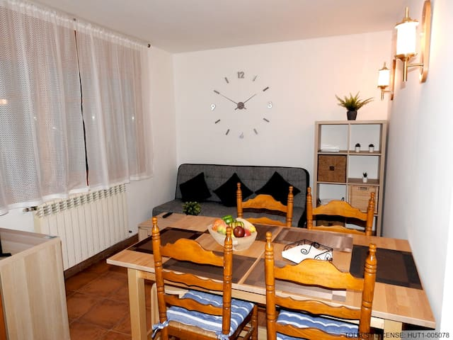Apartment - 800 m from the slopes