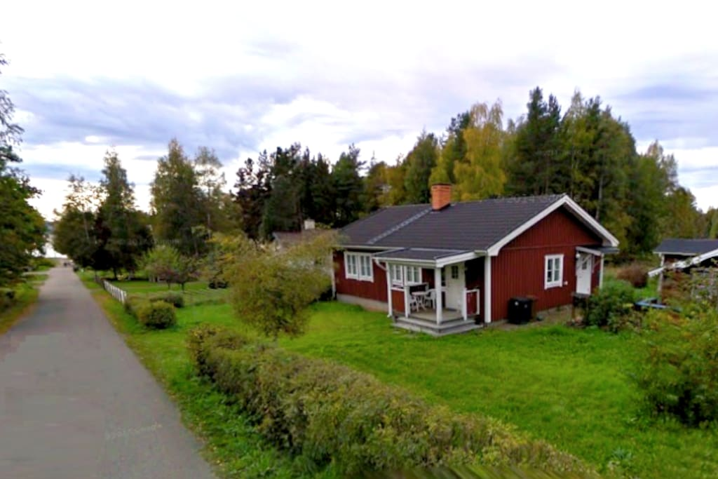 The cottage with a view over Siljan