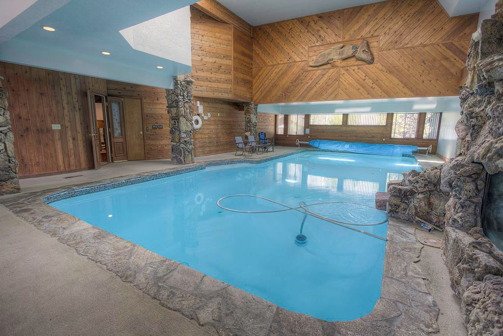 On The Water For 12 Indoor Pool And Hot Tub Houses For Rent In South Lake Tahoe California