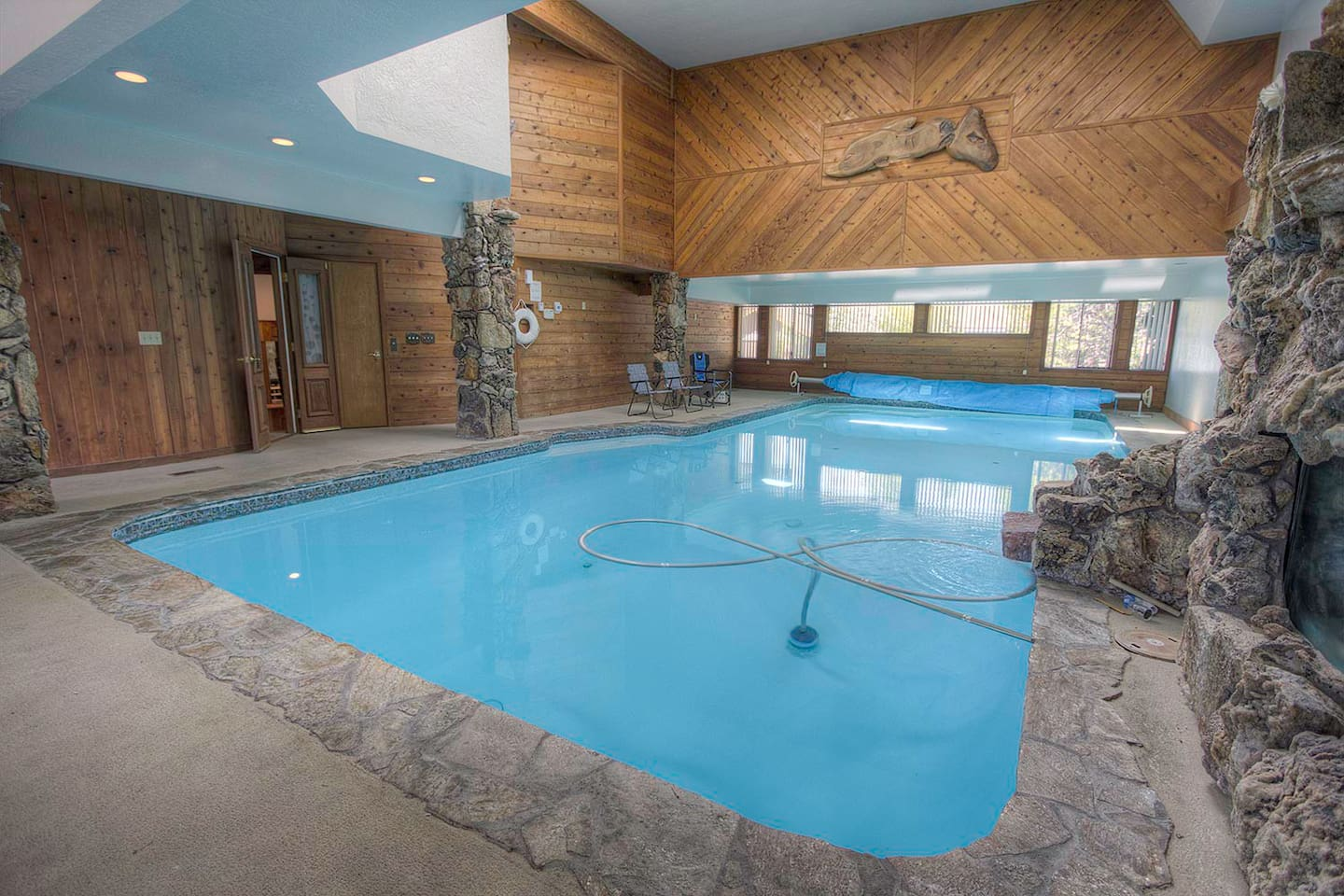 Indoor pool and hot tub  On the Water for 12, Indoor Pool and Hot Tub - Houses for Rent in ...