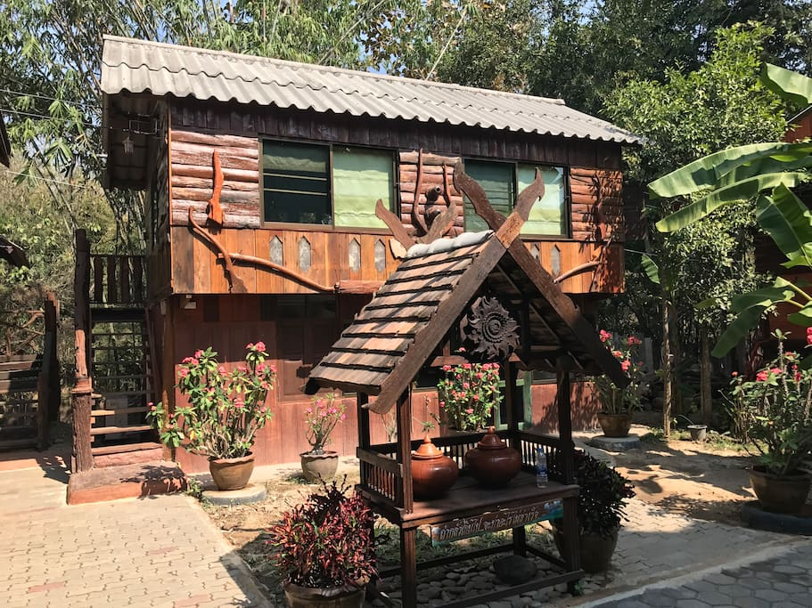 Thai & Oil massage room.
