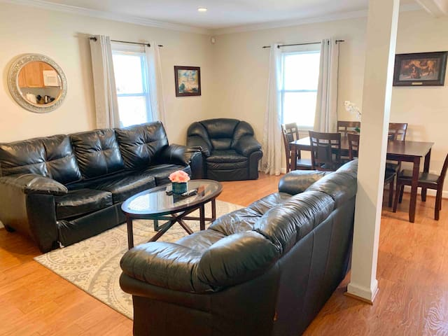 Just Renovated and Walking Distance to Metro