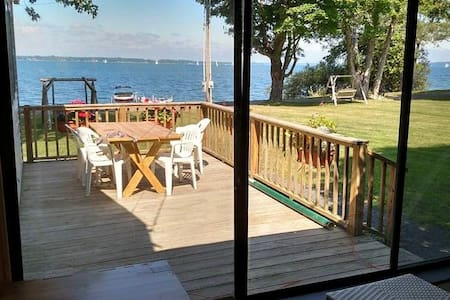 Cottage on Lake Champlain - North Hero - Stuga