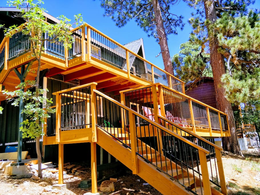 Back decks...you're going to love it