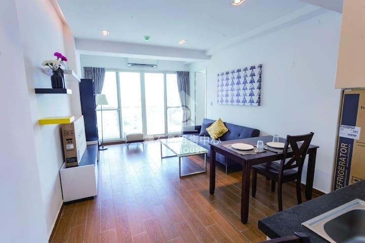 Bellavita Service Apartment 8B1 (1 Bedroom) @ BKK1