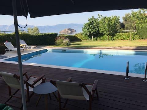 Skorponeria Villa with private pool & amazing view