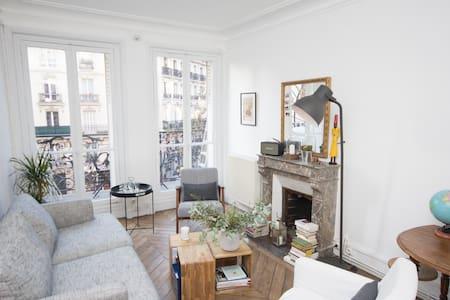 Gorgeous Haussmann apartment - 10 min Sacré Coeur - Paris