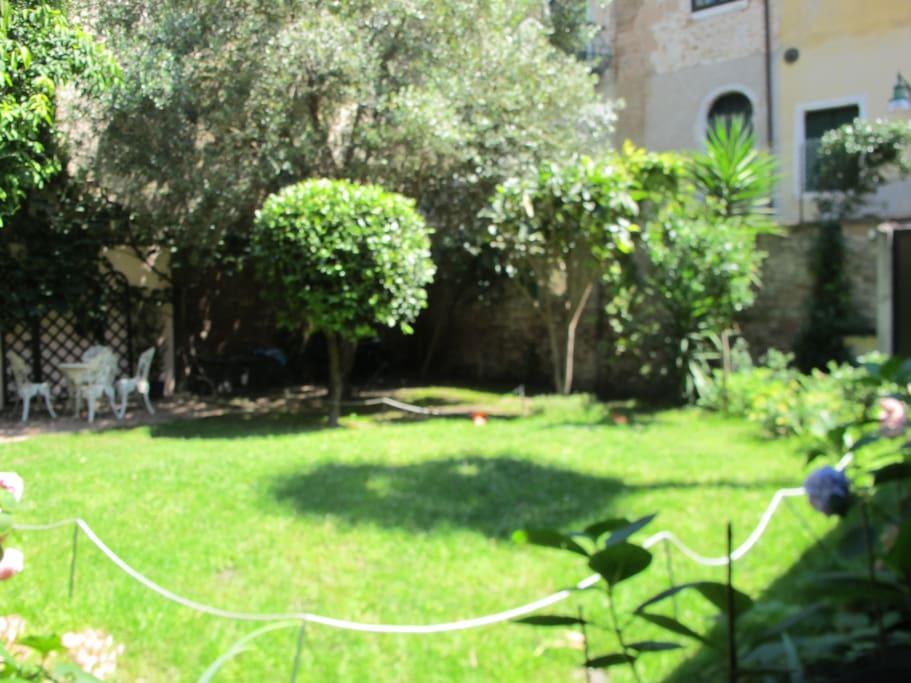 Inner garden former cloister
