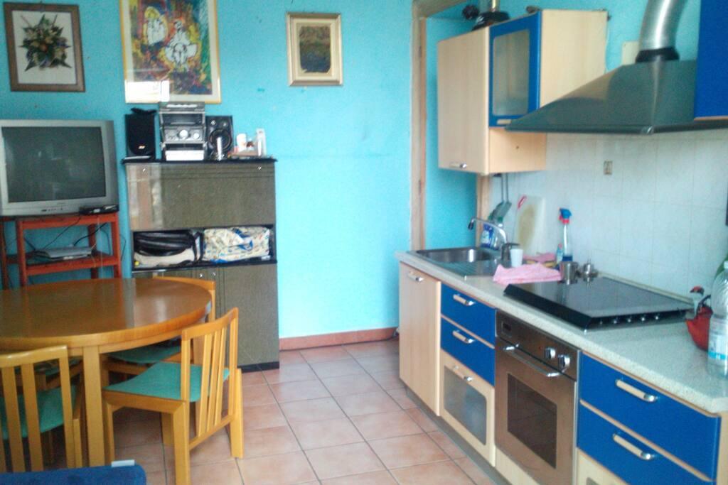 Cucina,soggiorno