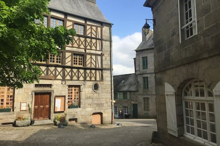 Comfortable 2 bed house in charming French village - Moncontour - Talo