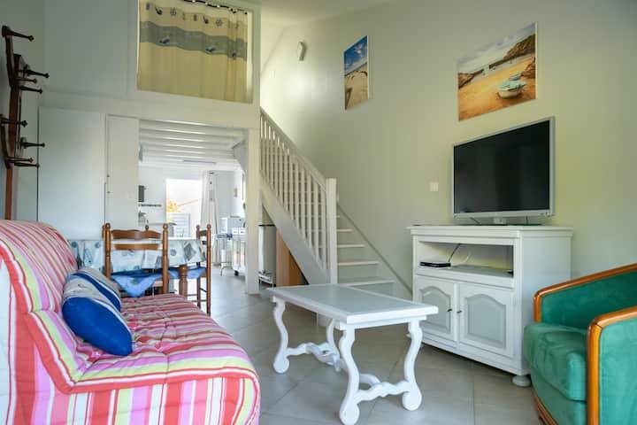 Maison de vacances plein sud Plus jardin de 70 m² et cours de 40 m²
