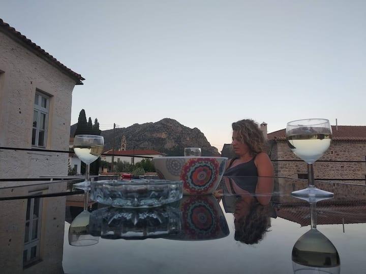 Matina's agora apartment with Terrace