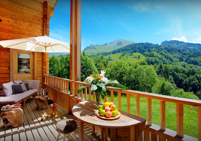 Chalet 4 *, 8 pers. 4 chambres, 3 sdb, bain nordique - OVO Network