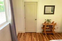 Second bedroom with closet
