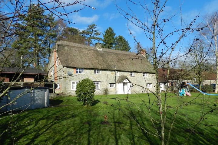 Traditional Dorset Longhouse