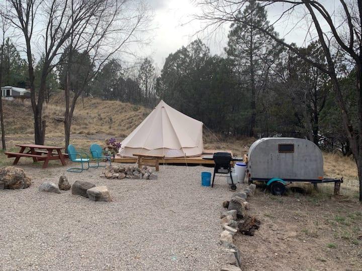 Camp @ Cloudcroft Yurt Tent
