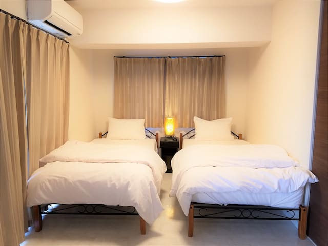 Brand new riverside apartment (Nr. 302) ☆ 2DK! - Nago-shi - Appartement