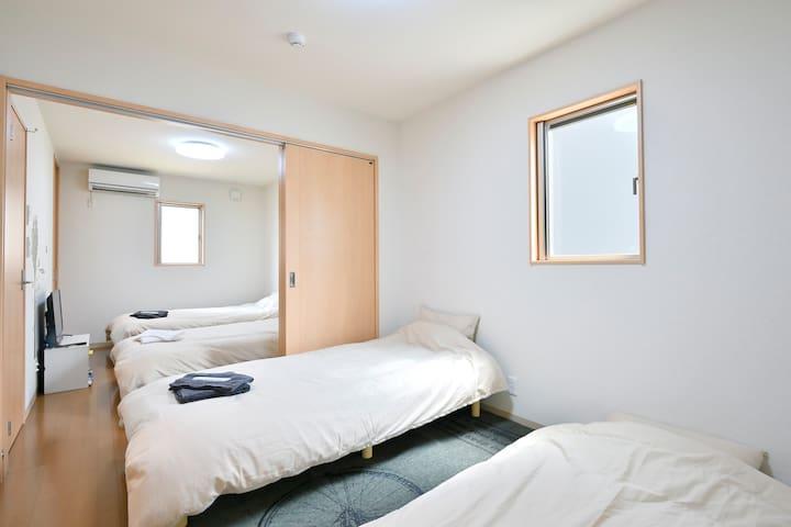 寝室-2 1F bedroom